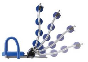 Схема тренировок с тренажером AB Exerciser